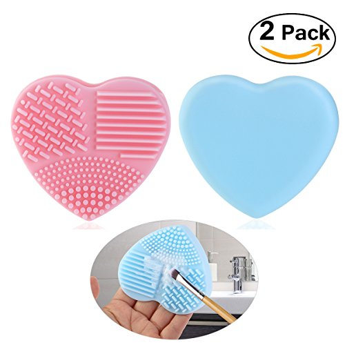pixnor-makeup-brush-cleaner-finger-glove-silicone-cosmetic-clean-tools-pack-of-2-pink-blue