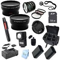 Advanced Professional Kit: for Sony HDR-CX580V HD Handyman Camcorder