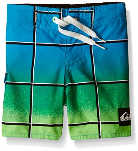 Quiksilver Big Boys Electric Colors Swim Boardshort, Neon Blue, 24 - Quiksilver Board Shorts Infant