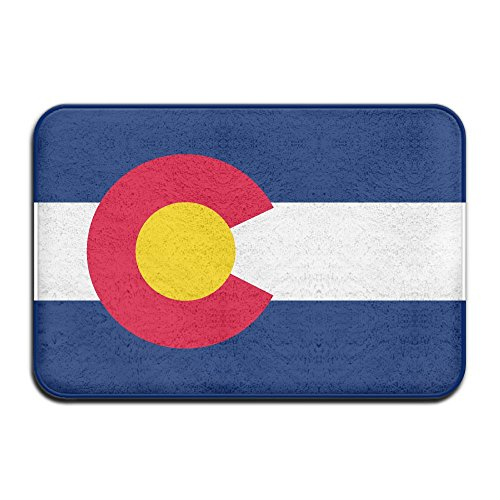 (DDIAN Flag Of Colorado Non Slip Mat, Kitchen, Toilet, Laundry, Bedroom Or Pet Mat.)