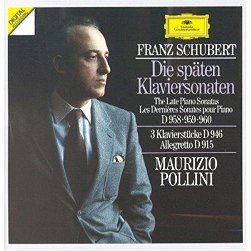 Schubert: Late Piano Sonatas, D.958-960 / Allegretto, D.915