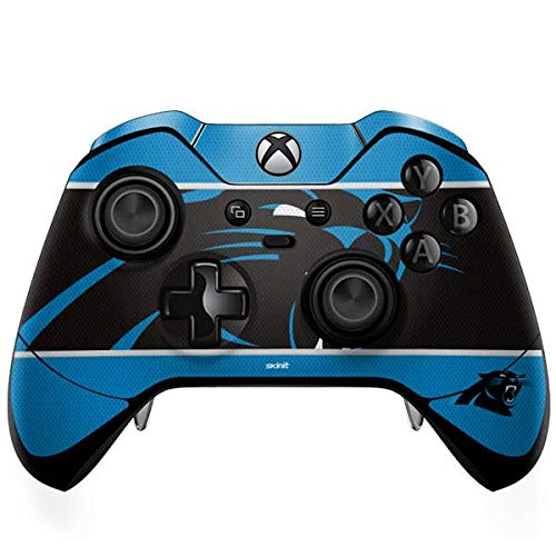 (Skinit Carolina Panthers Zone Block Xbox One Elite Controller Skin - Officially Licensed NFL Gaming Decal - Ultra Thin, Lightweight Vinyl Decal Protection)