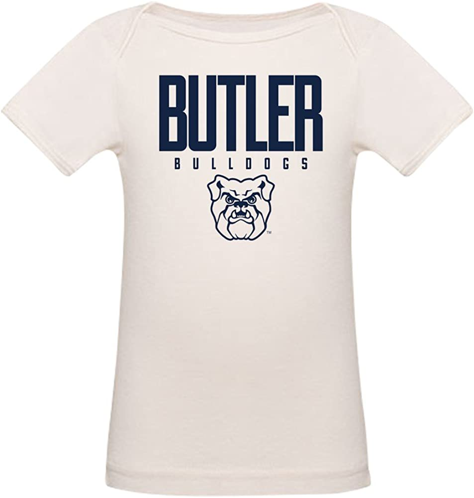 CafePress Butler Bulldogs Organic Cotton Baby T-Shirt