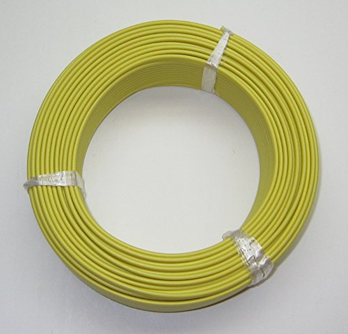(K-Type Thermocouple Wire AWG 24 Solid w. PVC Insulation - 100 Yard roll)