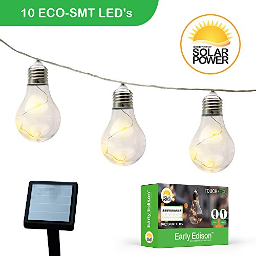 Solar Powered Led Eco String Lights