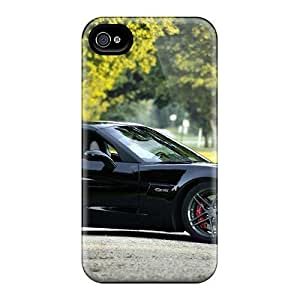 Fashion Tpu Case For Iphone 4/4s- Shiny Z Defender Case Cover