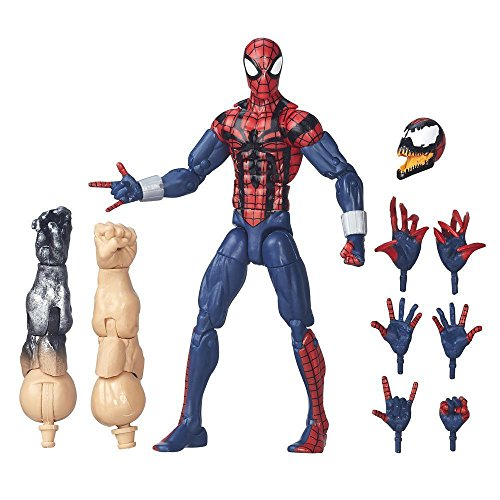 Ben Reilly Spider-Man Legends Series Edge Of Spider-Verse Collect To Build Absorbing Man Figure Poseable Articulation Absorbing Man Figure Brand (Spiderman Cosplay For Sale)