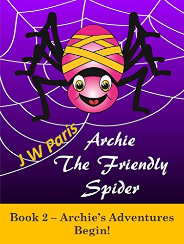 Spider Stories For Early Years Boys and Girls