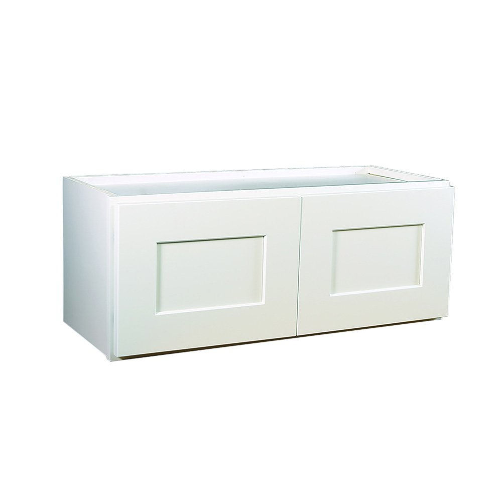 Design House 569277 Brookings Fully Shaker Wall 30x21x12, White Assembled Kitchen Cabinets, by Design House (Image #3)
