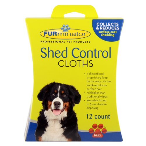FURminator Dog Shed Control Cloths,