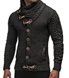 Taoliyuan Mens Autumn and Winter Fashion Slim Fit Cardigans Sweaters