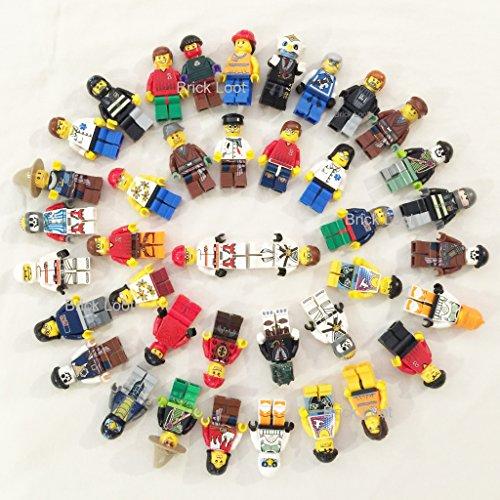 Lego Lot Of 10 Minifigures Random Lot Star Wars, Ninjago & More (US Seller)