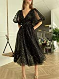 Sparkle Starry Tulle A-line Prom Dresses for Women