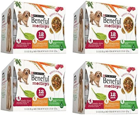 Purina Beneful- Variety Pack Wet Dog Food, 3 Oz, Case of 12