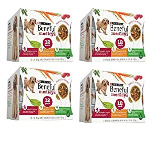 Purina Beneful- Variety Pack Wet Dog Food, 3 Oz, Case of 12 100