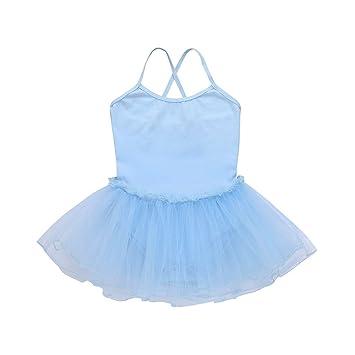 feiXIANG Correa bebé niña Falda de Baile Falda de Ballet Medias tutú Danza Gimnasia Rendimiento Ropa: Amazon.es: Electrónica