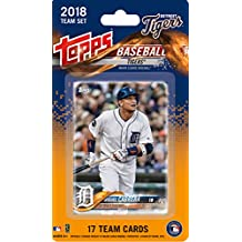 Detroit Tigers 2018 Topps Factory Sealed Special Edition 17 Card Team Set with Miguel Cabrera and Victor Martinez plus