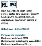 T Handle cam Latch, MS705-3U-1, SJ MS705Z1A000028