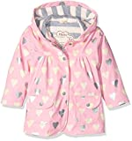 Hatley Girl's Metallic Hearts Raincoat