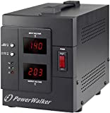 Bluewalker PowerWalker AVR 2000/SIV Schuko 2000VA/1600W Automatique Régulateur de Tension