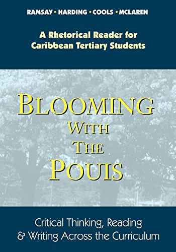 Blooming with the Pouis: Critical Thinking, Reading and Writing Across the Curriculum