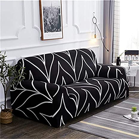 PPMP Funda de sofá elástica para Sala de Estar Funda de sofá elástica Funda de sofá en Forma de sección Funda de sillón Funda de sofá A9 4 plazas