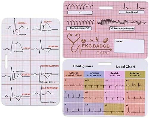 Lisol EKG Badge Card product image