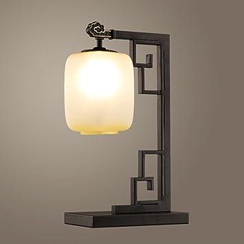 Table lamp.G ANDEa Lámpara de Mesa Sala de Estar Hierro ...