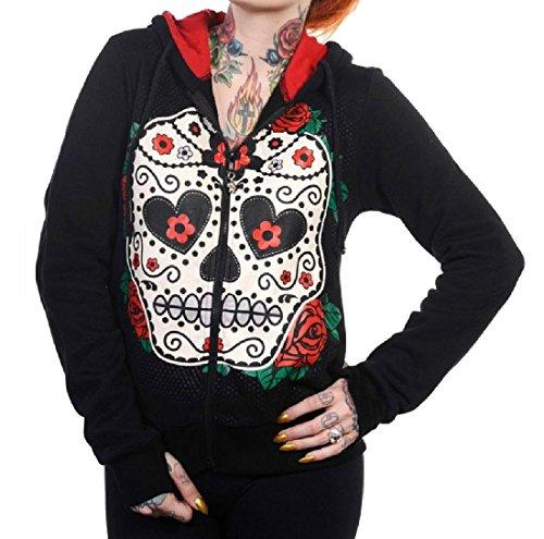 (CuteRose Women Halloween Costume Zip up Casual Loose Tracksuit Top 4)