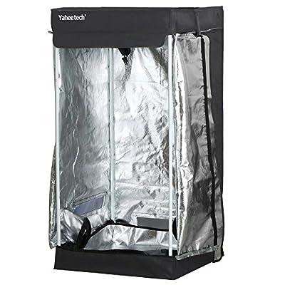 Yaheetech Hydroponic Indoor Garden Grow Tent Non Toxic Room