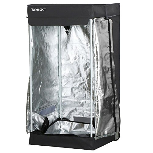 Yaheetech Hydroponic 24 x24 x48  - Best Cheap Grow Tent 2018  sc 1 st  Outdoor Authority & Best Cheap Grow Tents 2018 | Reviews and Comparisons