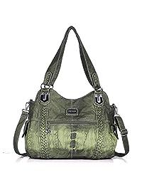 269e79f821 Angel Barcelo Purses and Handbags for Women Ladies Shoulder Bag Designer  Tie Dye Satchel Fashion