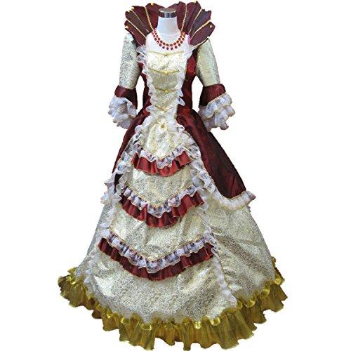 lady antoinette fancy dress - 4