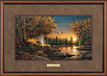 evening solitude by terry redlin encore ii framed print open edition