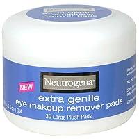 Almohadillas desmaquilladoras de ojos Neutrogena Extra Gentle 30 ea (paquete de 2)