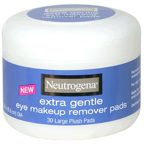 Neutrogena Extra Gentle Eye Makeup Remover Pads, Sensitive Skin 30 Count (Pack of -