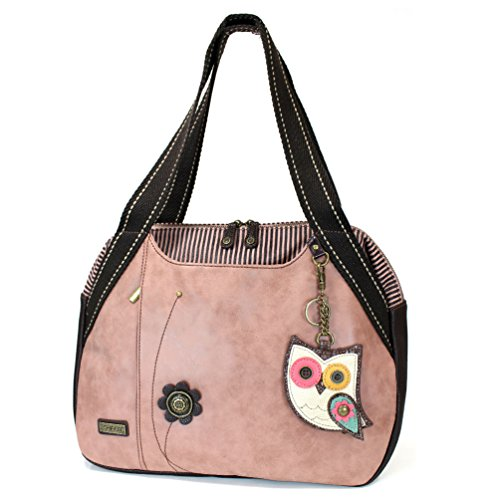 Chala Owl II Bowling Bag, Dusty Rose (Pink Ladies Bowling Bag)