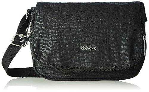 Kipling Womens Earthbeat S Cross-Body Bag Black (Black Garden)