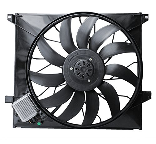 iator Brushless Cooling Fan Assembly for Mercedes W163 ML55 AMG 00-03 ML500 02-05 ()