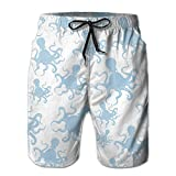 The Blue Octopus Quick Dry Breathable Comfortable Pants Beach Shorts Surf Shorts Household Shorts