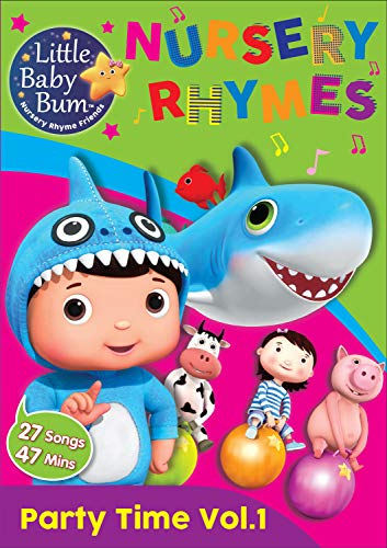 LittleBabyBum Party Time DVD $9.99 New for 2019! Latest LBB Release!
