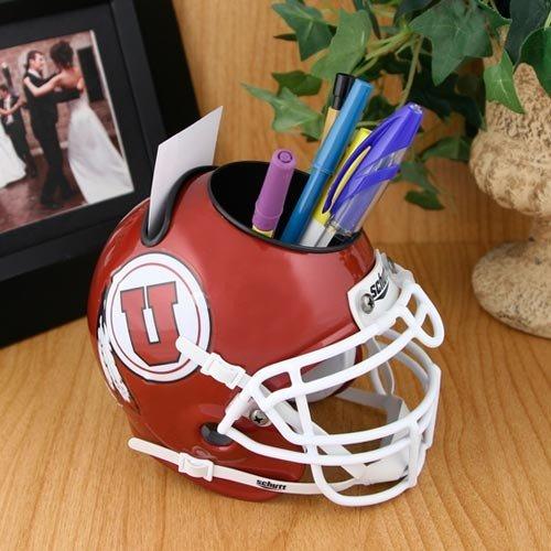 NCAA Utah Utes Mini Helmet Desk Caddy