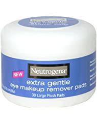 Neutrogena Extra Gentle Eye Makeup Remover Pads, Sensitive...