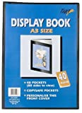 Tiger 301427 A3 Black Display Book 40 Pocket
