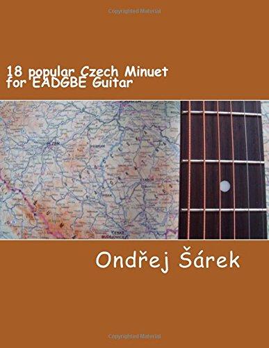 18 popular Czech Minuet for EADGBE Guitar