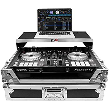 ProX XS-DDJSZWLTRB Case+Wheels+Sliding Laptop Shelf For Pioneer DDJ-SZ//DDJ-RZ