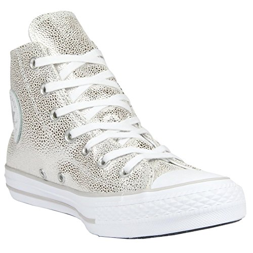 Converse 553346C Women Chuck Taylor All Star Stingray Pure Silver Black White