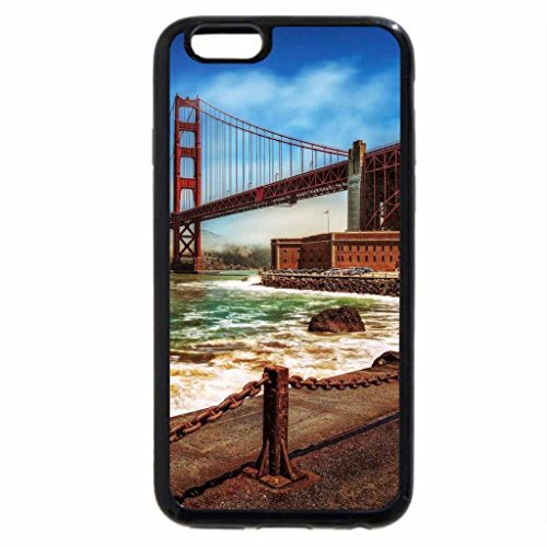 iPhone 6S / iPhone 6 Case (Black) golden gate bridge from a wharf hdr