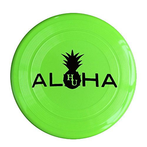 YQUE 56 Unisex Alha HU Pineapple Outdoor Game, Sport, Flying Discs,Game Room, Light Up Flying, Sport Disc,Flyer Frisbee,Ultra Star KellyGreen One Size]()
