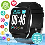 6. Smart Watch, Smartwatch for Android Phones, Waterproof Fitness Watch with Heart Rate Sleep Monitor Sport Fitness Activity Tracker Watch with Pedometer Calorie Compatible for Samsung iOS Women Men